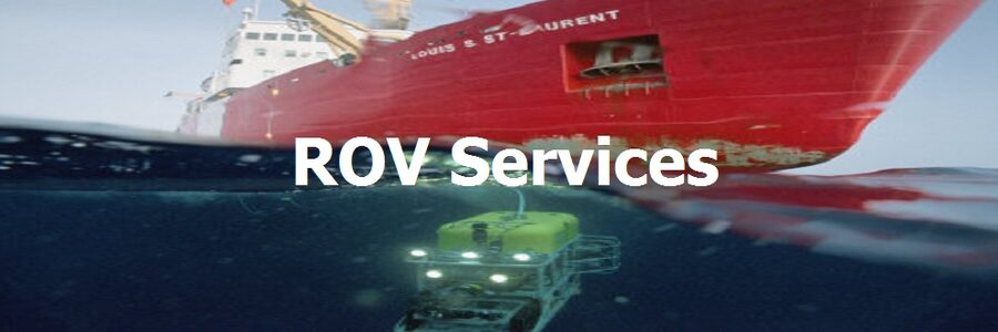 ROV Subsea Marine And Underwater Inspection And Surveys