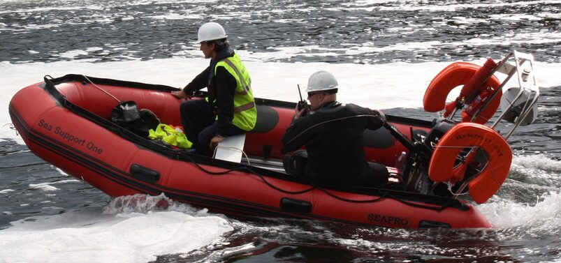 Devon Safety Boats And Safety Boat  Services